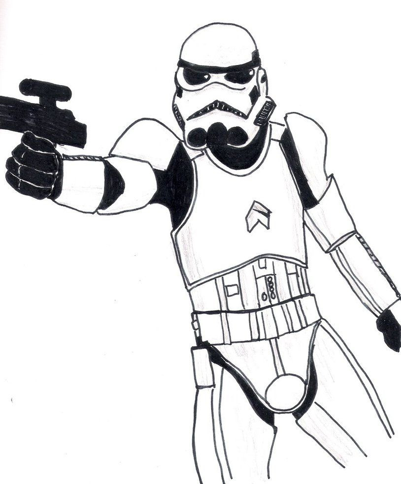 Best ideas about Stormtrooper Coloring Pages For Kids . Save or Pin Adult Stormtrooper Coloring Pages Coloring Home Now.