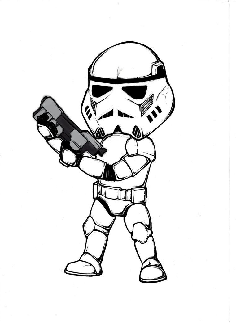 Best ideas about Stormtrooper Coloring Pages For Kids . Save or Pin Star Wars Stormtrooper Coloring Pages Coloring Home Now.