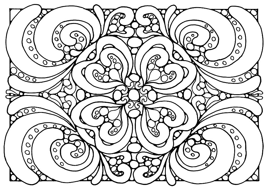 Best ideas about Stress Free Coloring Sheets For Kids . Save or Pin How do You De Stress Free Printable Colouring Pages for Now.