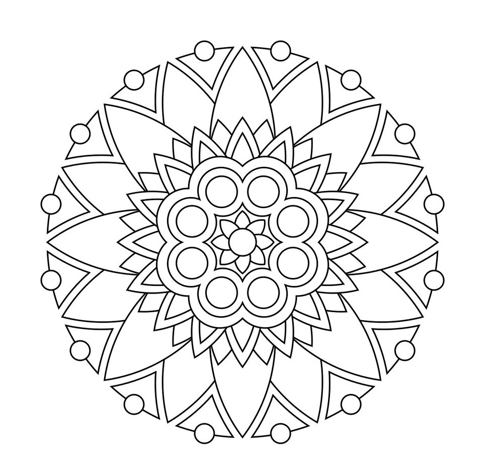 Best ideas about Stress Free Coloring Sheets For Kids . Save or Pin These Printable Mandala And Abstract Coloring Pages Now.