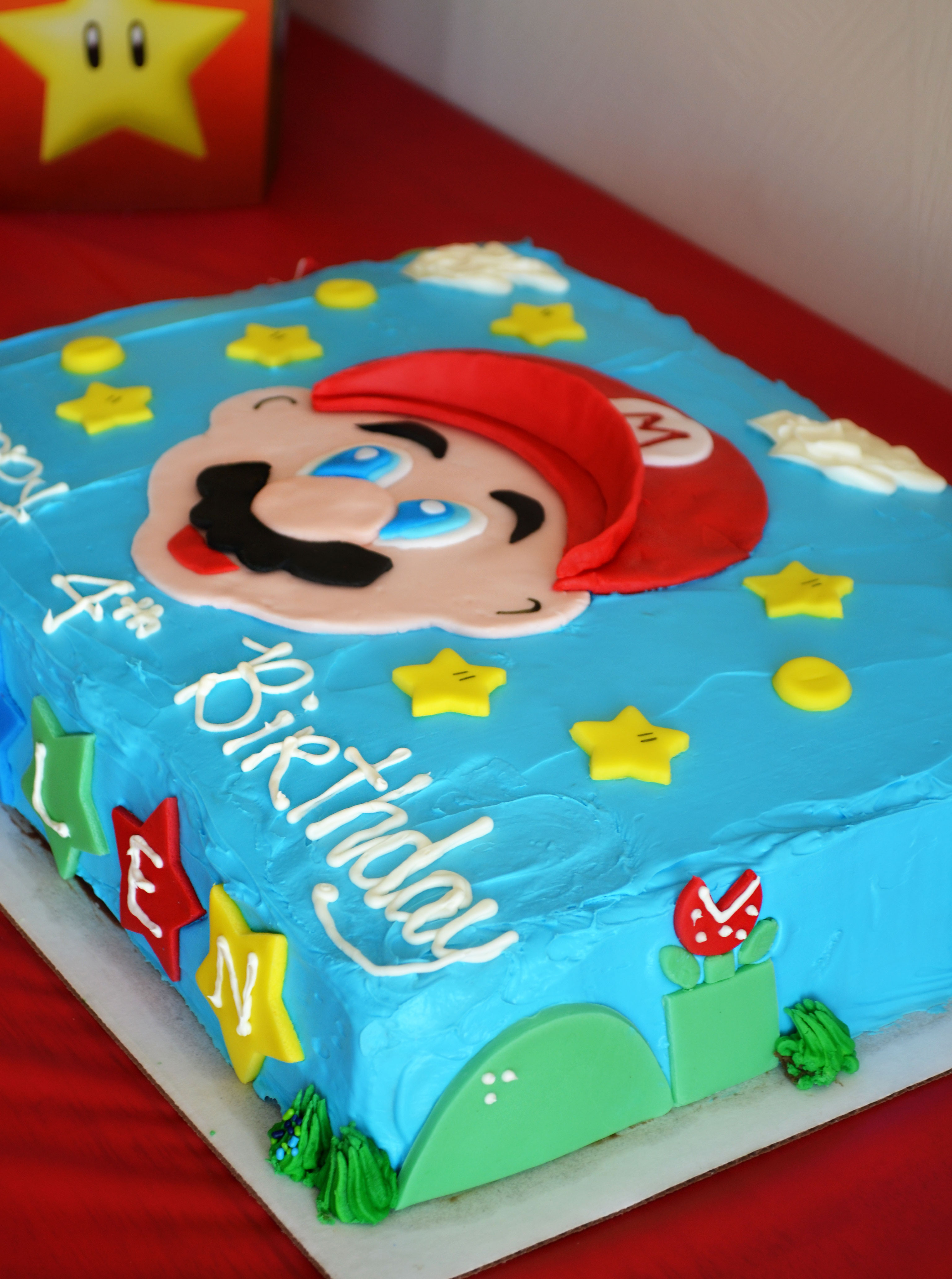 Best ideas about Super Mario Birthday Cake . Save or Pin Super Mario Brothers party & Happy Birthday Kallen Now.