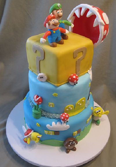 Best ideas about Super Mario Birthday Cake . Save or Pin Super Mario cakes part 1 3 Now.