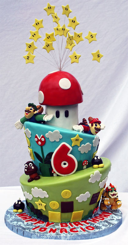 Best ideas about Super Mario Birthday Cake . Save or Pin This is an Awesome Super Mario Bros Birthday Cake [pic Now.