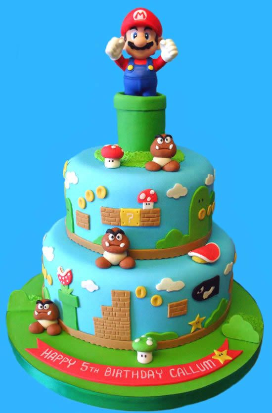 Best ideas about Super Mario Birthday Cake . Save or Pin 179 Best images about Super Mario theme party on Pinterest Now.