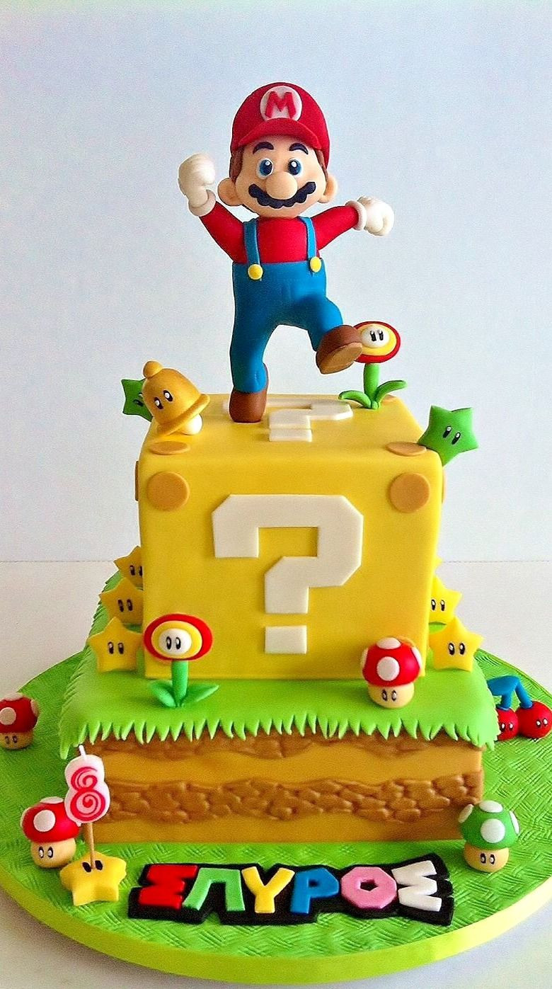 Best ideas about Super Mario Birthday Cake . Save or Pin Best 25 Mario bros cake ideas on Pinterest Now.