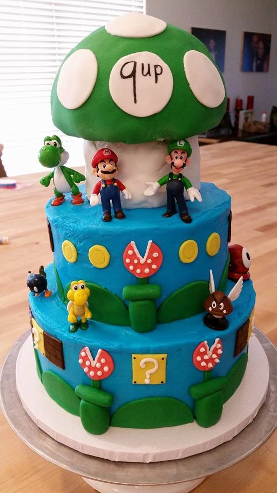 Best ideas about Super Mario Birthday Cake . Save or Pin Super Mario Bros Birthday Cake Baking With Mom Now.