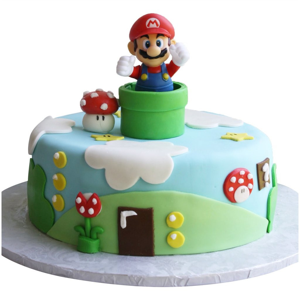 Best ideas about Super Mario Birthday Cake . Save or Pin Super Mario Cake £89 95 Buy line Free UK Delivery Now.