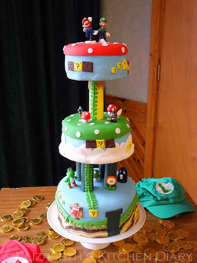 Best ideas about Super Mario Birthday Cake . Save or Pin The Ultimate Super Mario Bros Birthday Party Elizabeth Now.