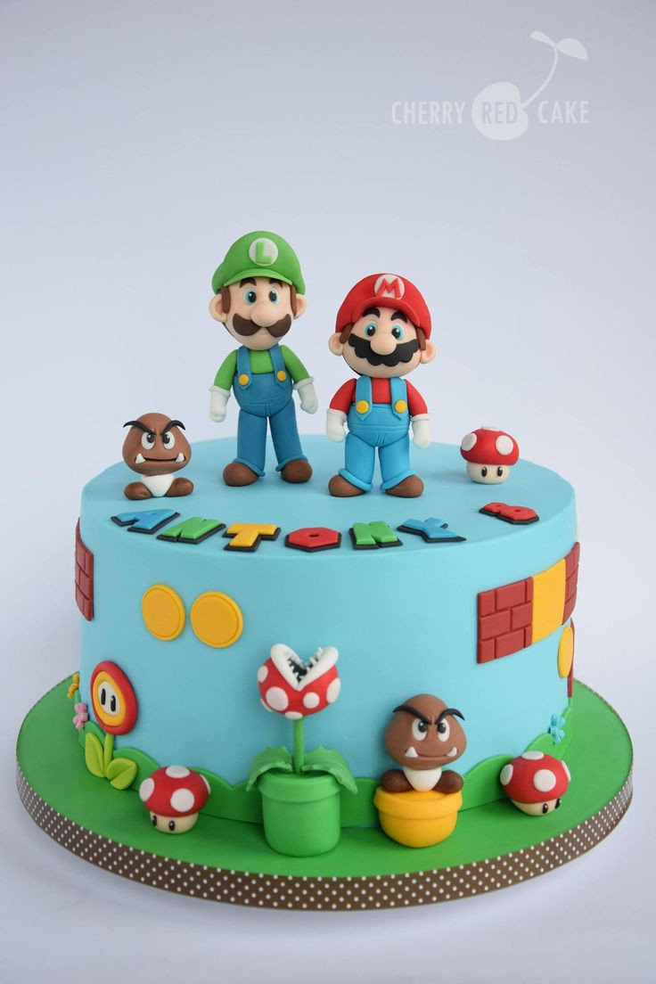 Best ideas about Super Mario Birthday Cake . Save or Pin Drawn cake mario Pencil and in color drawn cake mario Now.