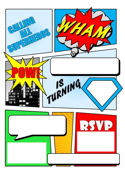 Best ideas about Superman Birthday Invitations . Save or Pin 12 FREE Printable Blank Superhero Birthday Invitation Now.