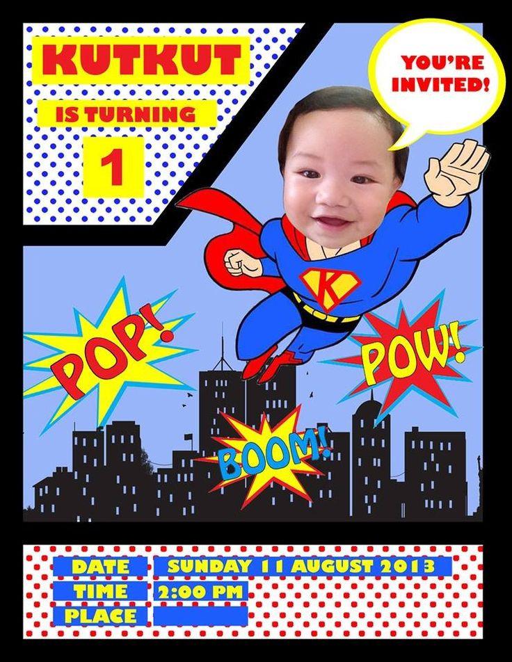 Best ideas about Superman Birthday Invitations . Save or Pin Superman Birthday Party Invitations Now.