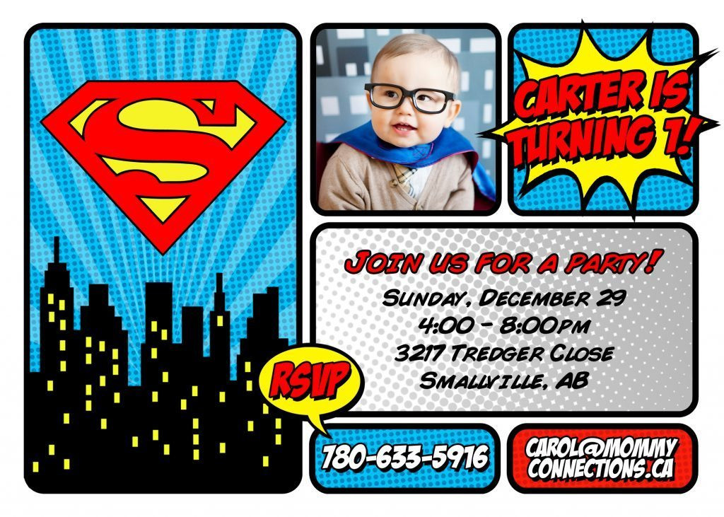 Best ideas about Superman Birthday Invitations . Save or Pin Superman First Birthday Party Now.