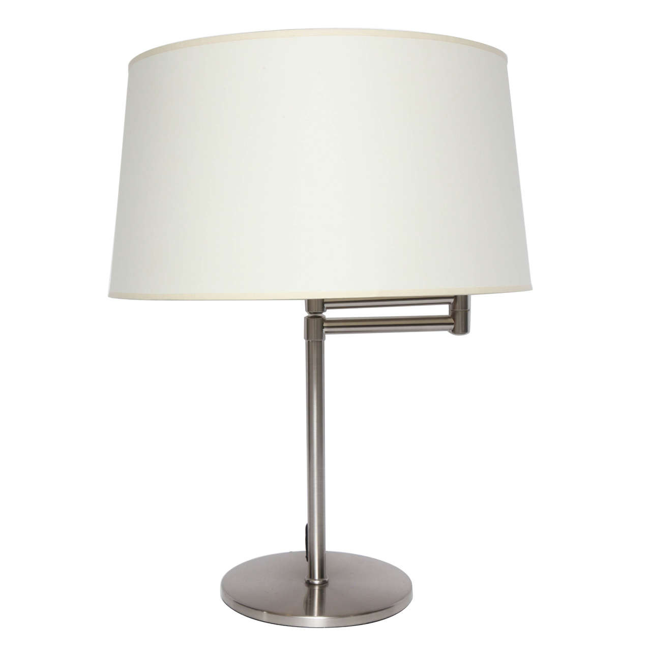 Best ideas about Swing Arm Desk Lamp . Save or Pin Brushed Metal Swing Arm Desk Lamp at 1stdibs Now.