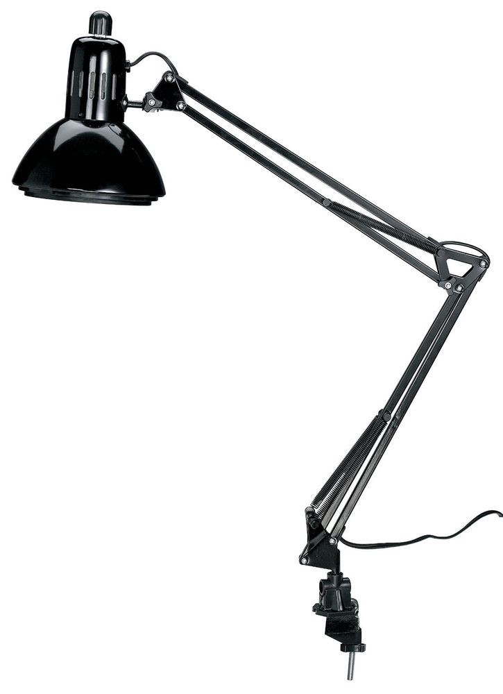 Best ideas about Swing Arm Desk Lamp . Save or Pin Swing Arm Lamp Black Drafting Desk Adjustable Artist Now.
