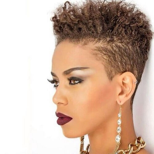 Best ideas about Tapered Natural Haircuts . Save or Pin 50 Cute Natural Hairstyles for Afro textured Hair Now.