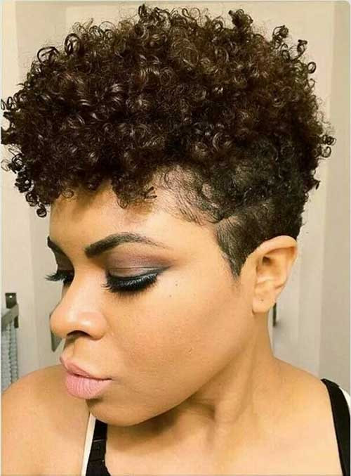 Best ideas about Tapered Natural Haircuts . Save or Pin Good Natural Black Short Hairstyles Now.