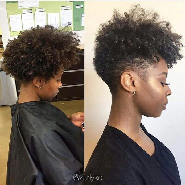 Best ideas about Tapered Natural Haircuts . Save or Pin Best Tapered Natural Hairstyles for Afro Hair 2018 Now.