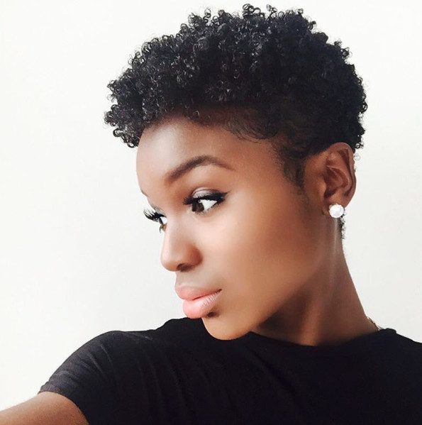 Best ideas about Tapered Natural Haircuts . Save or Pin InstaFeature Tapered cut on natural hair – dennydaily Now.