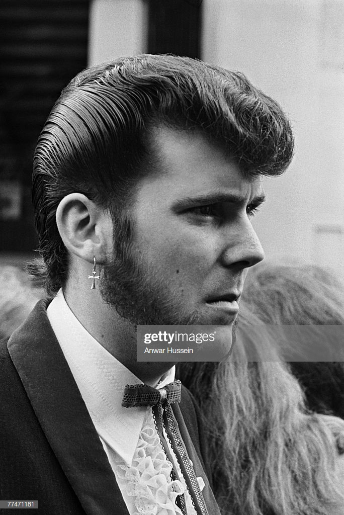 Best ideas about Teddy Boys Hairstyle . Save or Pin A teddy boy sports an immaculate quiff and Slim Jim tie Now.