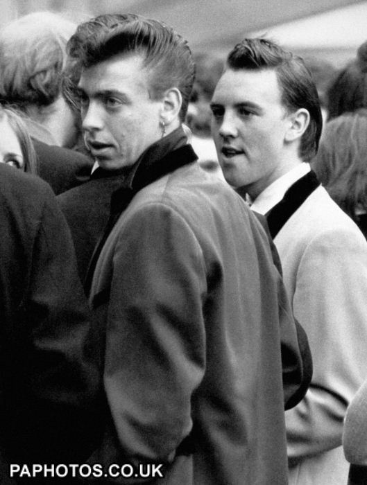 Best ideas about Teddy Boys Hairstyle . Save or Pin 26 best Subculture Teddy Boys images on Pinterest Now.