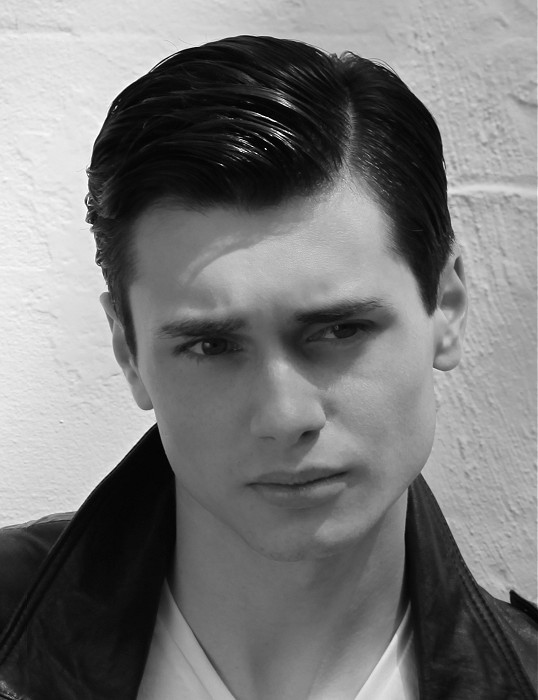 Best ideas about Teddy Boys Hairstyle . Save or Pin A Short black hairstyle From the Teddy Boys Collection by Now.