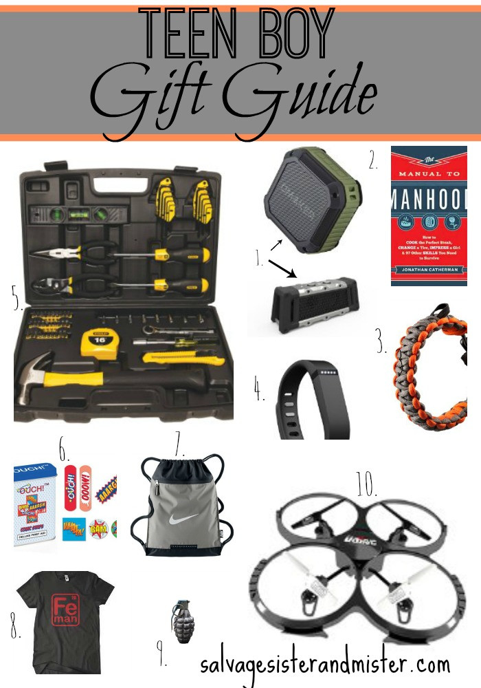 Best ideas about Teen Boys Gift Ideas . Save or Pin Teen Boy Gift Guide Salvage Sister and Mister Now.