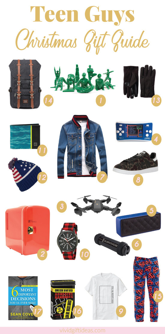 Best ideas about Teen Boys Gift Ideas . Save or Pin 17 Best Christmas Gift Ideas for Teen Boys Vivid s Now.