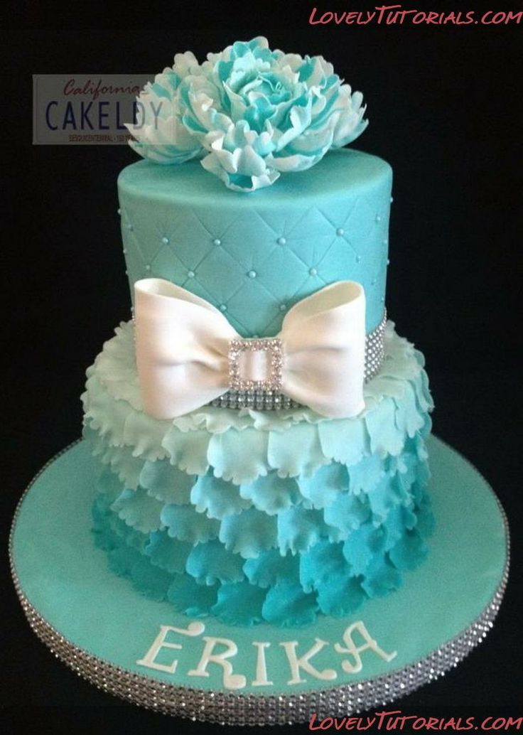 Best ideas about Teenage Girl Birthday Cake . Save or Pin How To Make A Layered Petal Cake MpM Excellent tutorial Now.