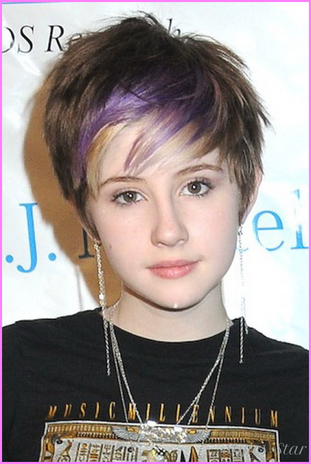 Best ideas about Teenagers Short Hairstyles . Save or Pin Black teenage girl short haircuts StylesStar Now.