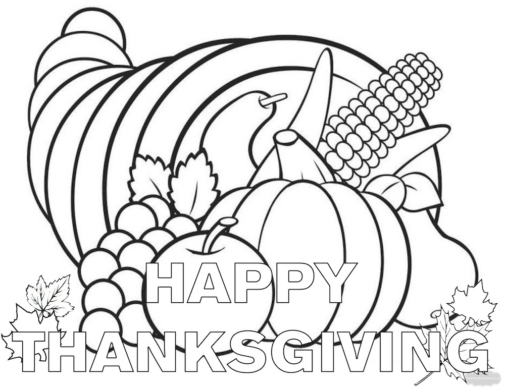 Best ideas about Thanksgiving Printable Coloring Sheets . Save or Pin Thanksgiving Coloring Pages Now.