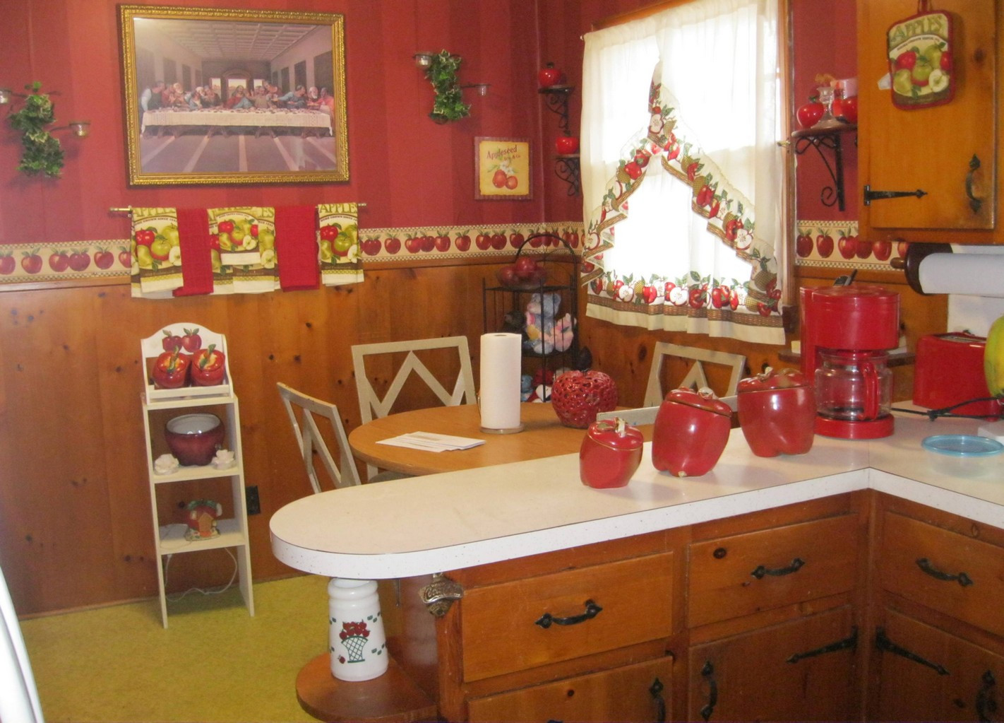 Best ideas about Themed Kitchen Decorations . Save or Pin Apple Kitchen Curtains Themed Apple Kitchen Curtains Now.