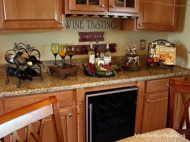 Best ideas about Themed Kitchen Decorations . Save or Pin Wine themed kitchen paint ideas Decolover Now.