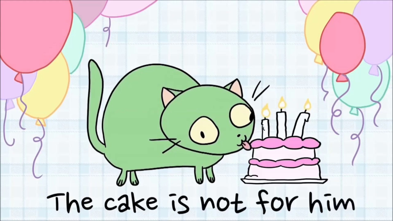 Best ideas about There's A Cat Licking Your Birthday Cake . Save or Pin Parry Gripp SPECIAL Cat Licking Your Birthday Cake Now.