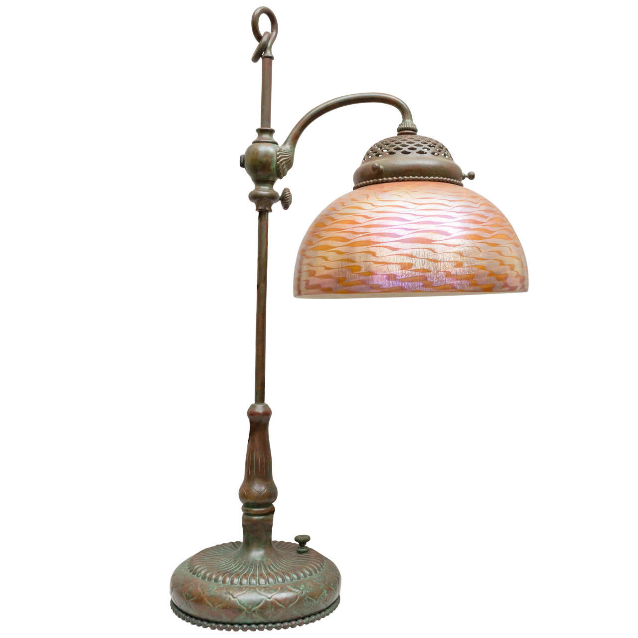 Best ideas about Tiffany Desk Lamp . Save or Pin Tiffany Studios Desk Lamp with Original Glass Shade at 1stdibs Now.