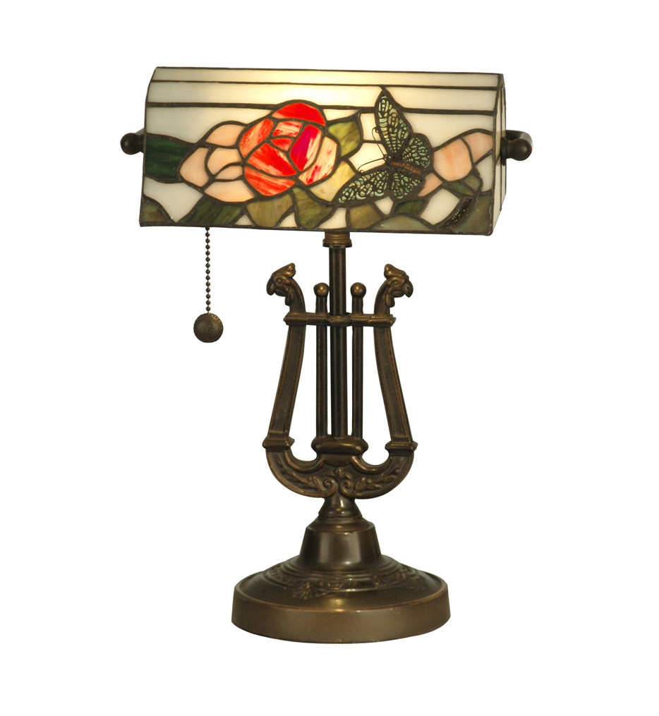 Best ideas about Tiffany Desk Lamp . Save or Pin Lamps Dale Tiffany TT Broadview Bankers Desk Now.
