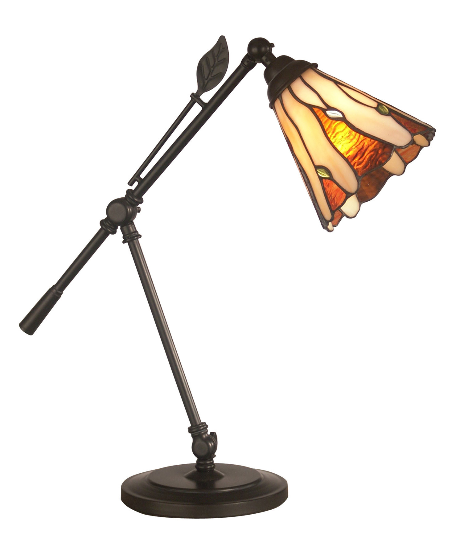 Best ideas about Tiffany Desk Lamp . Save or Pin Dale Tiffany TA Tiffany Leaf Desk Lamp Now.