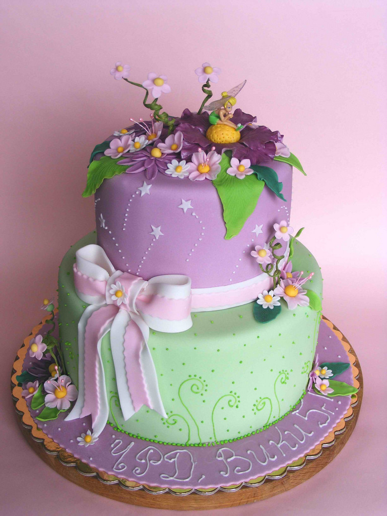 Best ideas about Tinkerbell Birthday Cake . Save or Pin Tinkerbell cake for Viki Now.