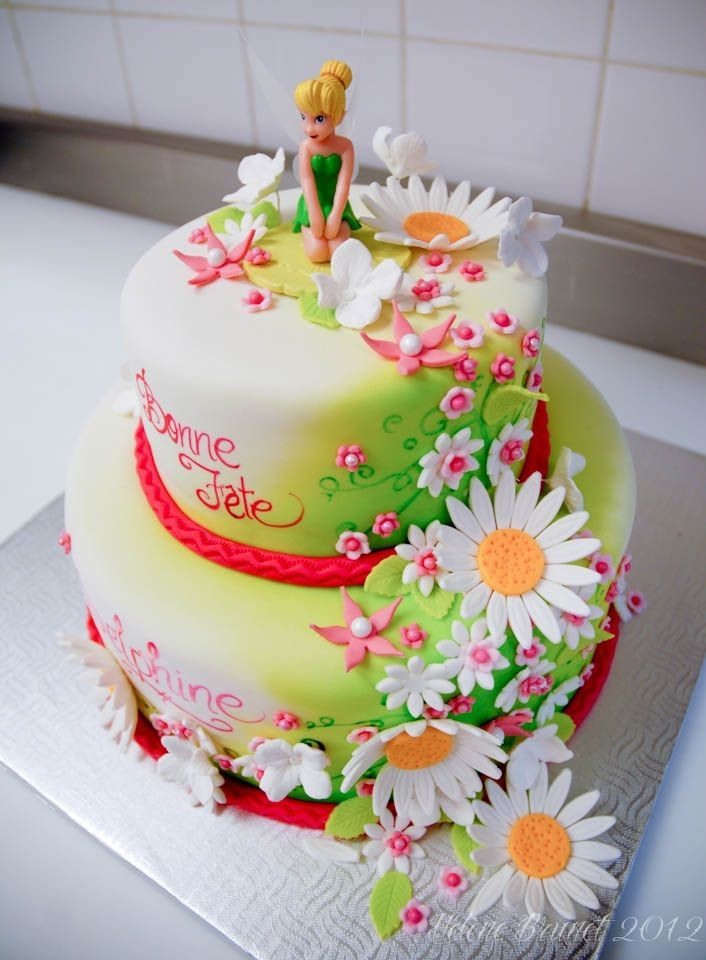 Best ideas about Tinkerbell Birthday Cake . Save or Pin Festa Trilly Now.