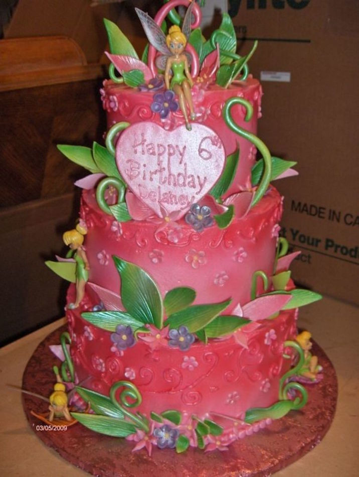 Best ideas about Tinkerbell Birthday Cake . Save or Pin Tinkerbell Birthday Cake Now.