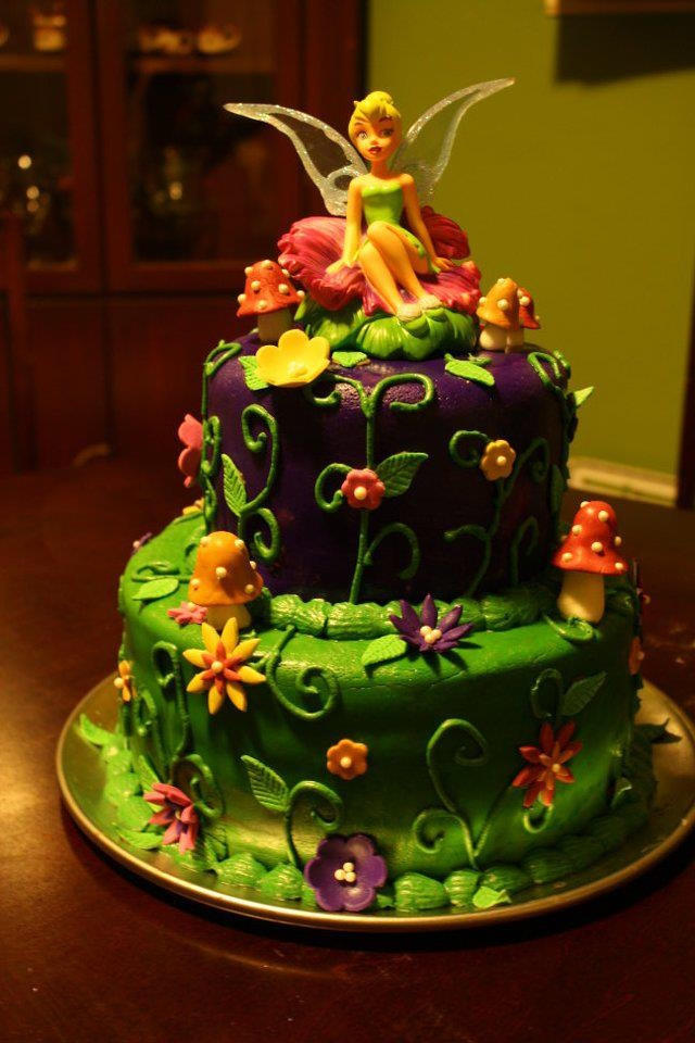 Best ideas about Tinkerbell Birthday Cake . Save or Pin 46 best images about Tinkerbell party food on Pinterest Now.
