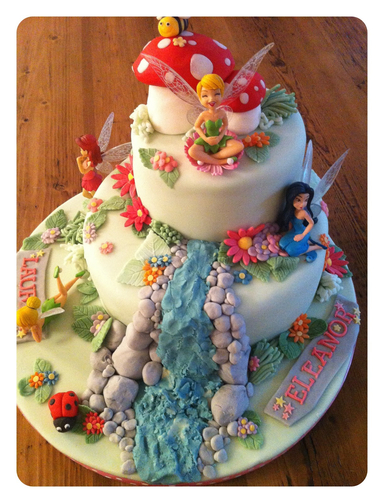 Best ideas about Tinkerbell Birthday Cake . Save or Pin homebird Tinkerbell birthday cake Now.