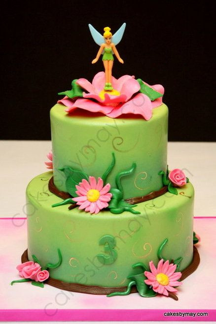 Best ideas about Tinkerbell Birthday Cake . Save or Pin Tinker Bell Cake on Pinterest Now.