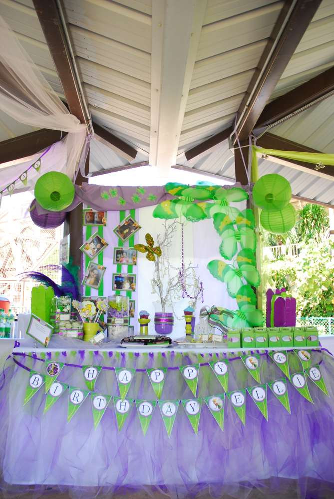 Best ideas about Tinkerbell Birthday Party Idea . Save or Pin Tinkerbell & Fairies Birthday Party Ideas Now.