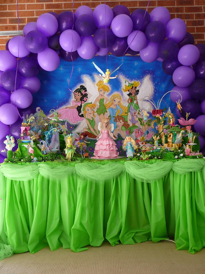 Best ideas about Tinkerbell Birthday Party Idea . Save or Pin Tinkerbell Balloons Decorations Now.