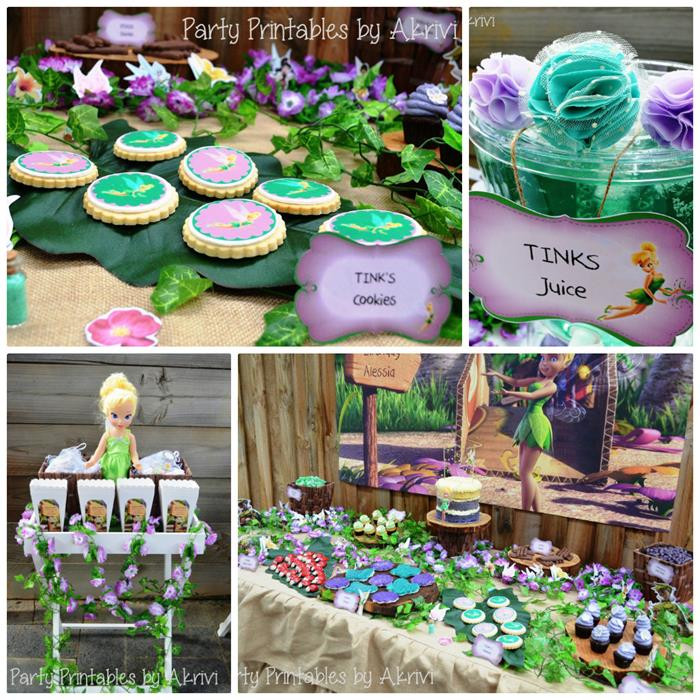 Best ideas about Tinkerbell Birthday Party Idea . Save or Pin Kara s Party Ideas Tinkerbell Party Ideas Supplies Decor Now.