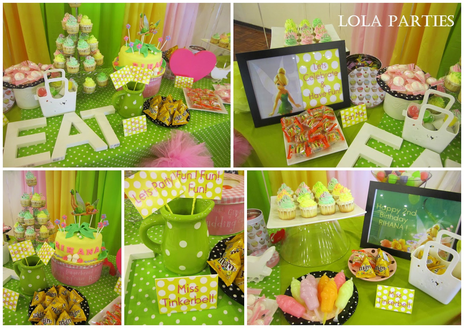 Best ideas about Tinkerbell Birthday Party Idea . Save or Pin Tinkerbell Party Decoration Ideas Now.