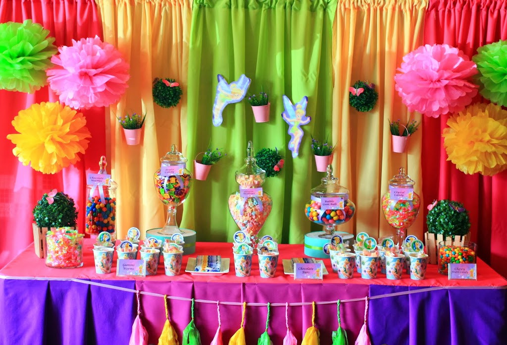 Best ideas about Tinkerbell Birthday Party Idea . Save or Pin Tinkerbell birthday party ideas for girl MARGUSRIGA Baby Now.
