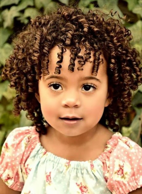 Best ideas about Toddler Curly Hairstyles . Save or Pin Short Hairstyles For Kids Elle Hairstyles Now.