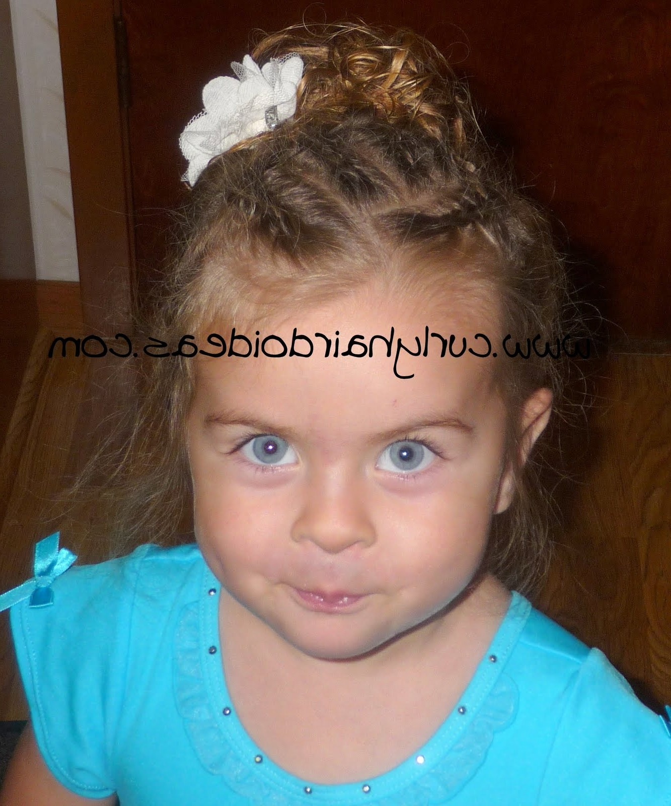 Best ideas about Toddler Curly Hairstyles . Save or Pin Toddler Curly Hairstyles Girl Now.