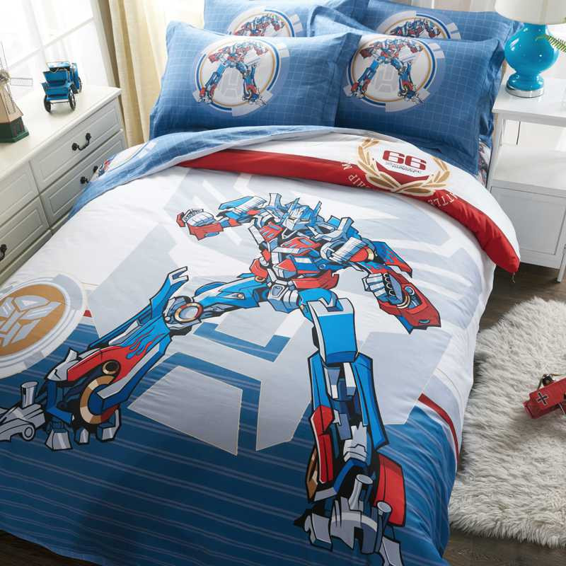 Best ideas about Transformers Bedroom Sets . Save or Pin Transformers Bedding Sets Twin Queen King Size forter Set Now.